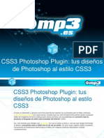 CSS3 Photoshop Plugin