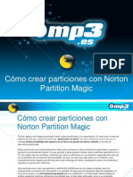 Cómo crear particiones con Norton Partition Magic