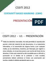 HEAM CSSITI2012 CBM CertaintyBasedMarking Presentacion
