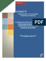 P 6.4 Metodos de Soluciones de Las Ecuaciones Diferenciales Parciales