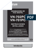 Manual de Grabadora VN702PC_ES_U01