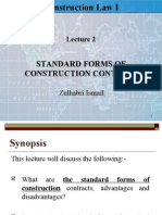 Lect 2. Standard Forms