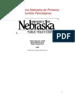 Manual del Instructor en primeros auxilios psicológicos