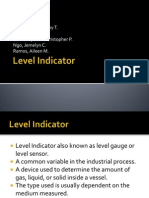 Level Indicator Presentation
