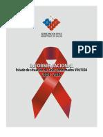 INFORME NACIONAL - Chile - Estado de situación de casos confrmados VIH/SIDA 2004 - 2008