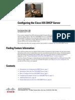 Configuring the Cisco IOS DHCP Server
