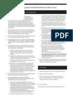 Faculty Checklist