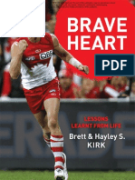August Free Chapter - Brave Heart by Brett Kirk and Hayley S-Kirk