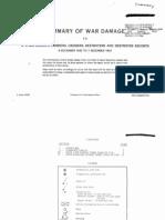 SUMMARY of WAR DAMAGE