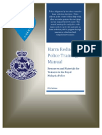 Harm Reduction Police Training Manual