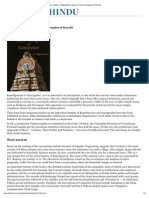 The Hindu _ Arts _ Books _ Epigraphical Study of Vishnu Temples of Kanchi