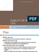 3.5- Quality of Work Life
