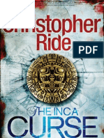 August Free Chapter - the Inca Curse by Christopher Ride