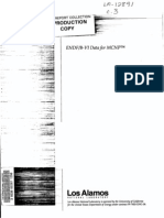 Endf B-Vi Data for Mcnp
