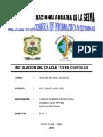 INSTALACION DEL ORACLE 11G EN CENTOS 5.5