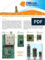 Evolution of DVB-T Front-End Receivers Through Integration
