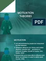 Motivation Theories Leadership