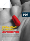 Cara Aman Konsumsi Antibiotik
