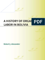 Alexander.05.History of Organised Labour Bolivia