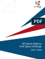 UK Space Agency Civil Space Strategy, 2012 - 2016