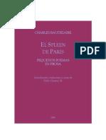 Baudelaire Spleen de Paris Def