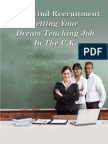 Your Ideal Teaching Job Is Achievable