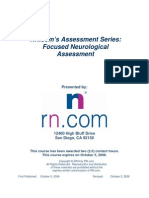 Focused Neurological Assessment