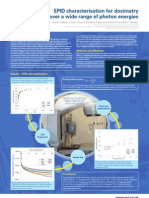 EPID characterisation for dosimetry over a wide range of photon energies