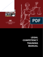 CMFR Legal Competency Training Manual