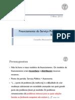 rodrigo q melo [cne] 2012_financiamento so serviço público de educação