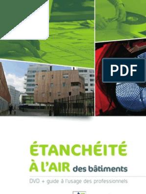 Guide Etancheite Air Batiments 12mars2012 Bois Matériau