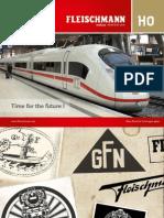 Fleischmann Catalogue H0 Scale (english) - 2012