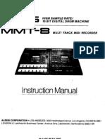 Alesis HR-16 & MMT-8 Owners Manual