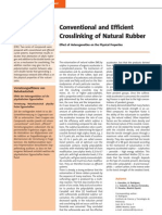 Conventional and EV Crosslinking of NR
