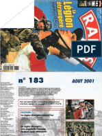 La Legion aujourd'hui,RAIDS N°183,2001