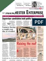 Manchester Enterprise front page July 26