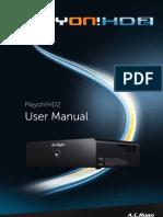 English PV73700 Manual