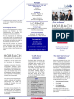 Get to know HORBACH