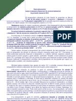 Situatia Economico Financiara in Sectorul Industrial in Perioada Ianuarie 2012