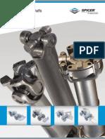 Catalog DANA prop shafts