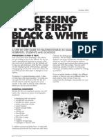 Ilford Film Developing