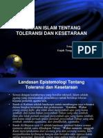 5. Ajaran Islam Ttg Toleransi
