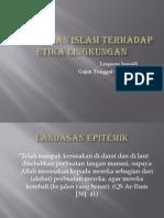 10. Pandangan Islam Terhadap Etika Lingkungan
