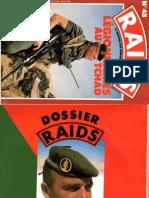 Le 2REI au Tchad,RAIDS N°48,1990.május
