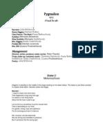 Pygmalion Script