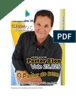 Propostas de Candidatura Do Pastor Elon 2012 II