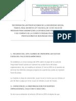 Reforma Ley 20.2012, Spv