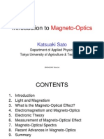 79249730 Introduction to Magneto Optics