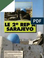 Le 2REP a Sarajevo,RAIDS N°83,1993.ápr.