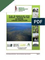 Plan de Manejo Laguna Concepcion Final